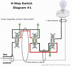 how to wire a  way switch  way switching diagram