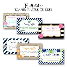 baby shower diaper raffle tickets printable diaper raffle tickets baby shower diaper raffle tickets printable diaper raffle tickets diy printable made to match any invitation in shop