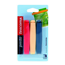 <b>Набор зажимов</b> для пакетов Tescoma <b>Presto</b> 6 шт, 9 см, цена 92 ...