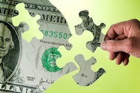 budget, money, puzzle, dollar, green