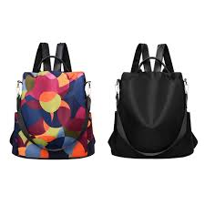 Fashion <b>Waterproof Oxford</b> Women Anti-theft <b>Backpack</b> High Quality ...