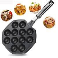 <b>QQ Egg Bubble</b> Puff Cake Baking Pan Waffle Maker Mold Plate Non ...