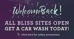 BLISS <b>Car Wash</b> - Home