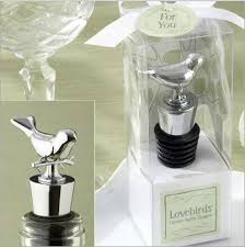 <b>New Arrival Exquisite</b> Box Packing Love Bird Wine Stopper Metal ...