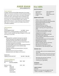 office administrator resume 4 office administration sample resume