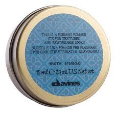 <b>Моделирующая помада для</b> волос More Inside 75мл Davines ...