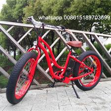 China Fat Tire <b>Electric Bicycle</b> with <b>48V500W</b> Bafang Motor for Lady ...