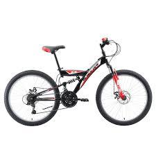 <b>Велосипед Black One Ice</b> FS 24 D черный/красный/белый ...