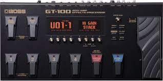 <b>Гитарный процессор Boss</b> GT-100