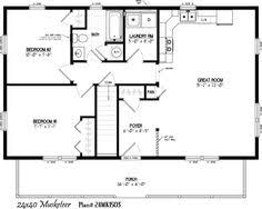 x floor plans   Alpine Homes      x      Modular Home Plans    See Musketeer Log Cabin Floor Plans for our Cozy Cabins