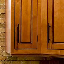 inset cabinet with glazed maple finish and deep light rail trim kitchen under cabinet cabinet lighting home