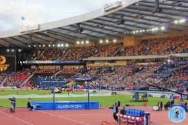 my glasgow commonwealth games in photos the little backpacker athletics at hampden park