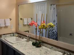 Add a wood frame around a plain <b>mirror</b> | <b>DIY</b>