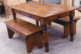 room table benches