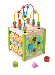 toys toys for development toys for problem solving skills the everearth my first multi play activity cube