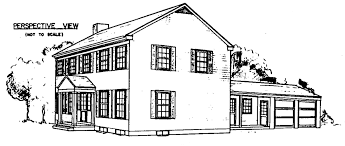 Free Colonial House Plans   Colonial House Floor PlansColonial House Plan
