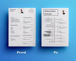 resume before and after small change but looks much better <