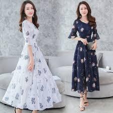 <b>2019 New</b> Fashion <b>Summer Korean</b> Beautiful Temperament Chiffon ...