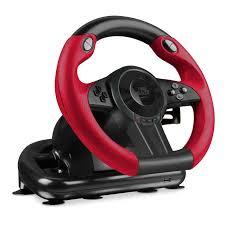 <b>SpeedLink Trailblazer</b> Vibration Effect <b>Racing Wheel</b> with Pedals for ...
