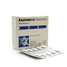 Купить <b>Акатинол Мемантин</b> таблетки покрытые пленочной ...