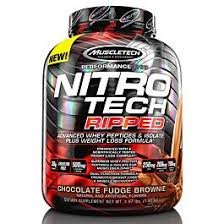 MuscleTech <b>Nitro Tech Ripped</b> : Protein weight loss formula : NZ ...