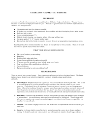 building a good resumes template building a good resumes