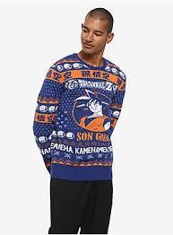 <b>Dragon Ball Z Son</b> Goku Ugly Holiday Sweater - BoxLunch Exclusive