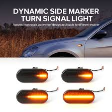 2 pieces <b>Led Dynamic</b> Side Marker <b>Turn Signal</b> Light Sequential ...