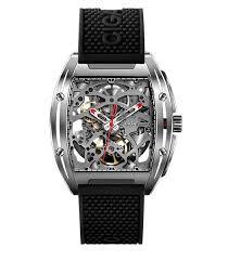 <b>CIGA DESIGN</b> Z031 <b>Men's</b> Tonneau Skeleton Watch - MDMK ...