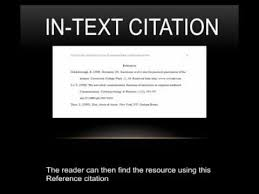 Structuring Citation In An APA Style Research Paper apa in text citation format