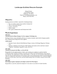 resume template landscape architect resume career summary example by alison doyle pictures architect home design resume cv cover leter breakupus