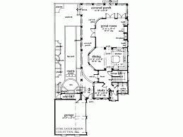 Eplans Italianate House Plan   Fabulous Charleston Row Style    Level
