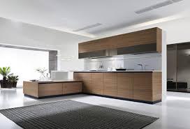 Contemporary Galley Kitchen Wonderful White Modular Kitchen Interior Design Concept With