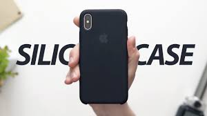 <b>Чехол Apple Silicone Case</b> для iPhone X — Обзор - YouTube