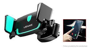 Authentic USAMS Bowie Series <b>Car</b> Air Vent Mount <b>Cell Phone</b> ...