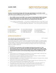 s  resume exampleonline tutor resume sample resume samples    cover letter marketing resume samples hiring managers will notice digital manager pagesample online marketing manager resume