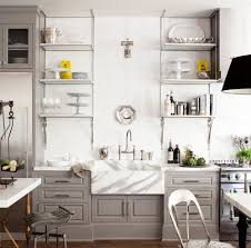 Kitchen Open Shelves Kitchen 10 Cool Open Kitchen Cabinets Design Ideas Collection