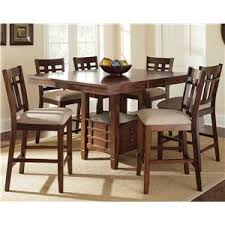 kitchen table sets bo: steve silver bolton  piece counter height dining set