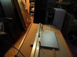 Складной рабочий <b>стол</b> для распиловки. Folding panel <b>cutting table</b>.