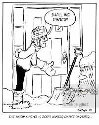 Image result for shoveling snow cartoon