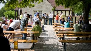Estabrook <b>Beer</b> Garden is selling 100 picnic <b>tables and</b> benches