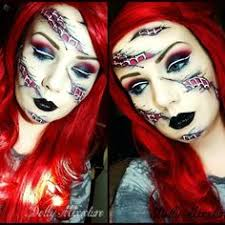 we love dollymitures creative take on spiderman she used sugarpill royal sugar and love eyeshadows