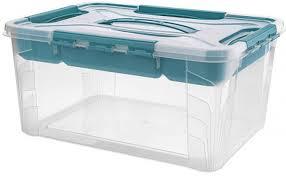 Коробка для хранения <b>Econova Grand Box</b>, 433224402, голубой ...