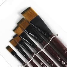 <b>6pcs</b>/set Watercolor Oil <b>Painting Brush Set</b> Acrylics Art Different ...