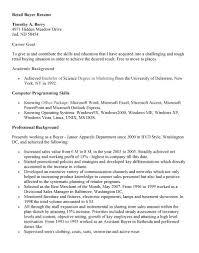 Resume Template  Buyer Resume Objective  guide for buyer resume     longbeachnursingschool
