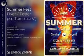 summer flyers template design for photoshop beach party flyer psd templates summer fest flyer template