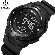 <b>smael</b> men <b>digital sport watch</b> clock led military analog – Buy <b>smael</b> ...