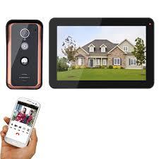 MAOTEWANG <b>9 inch Wireless</b> Wifi IP Video <b>Doorbell</b> Intercom Entry ...