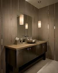 bathroom sink for two modern tiled bathroom with stylish pendant lamps bathroom lightin modern bathroom
