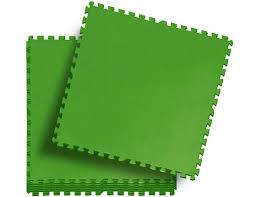 <b>Мягкая модульная подстилка</b> Пазл 81х81см, 8 шт, зеленый ...